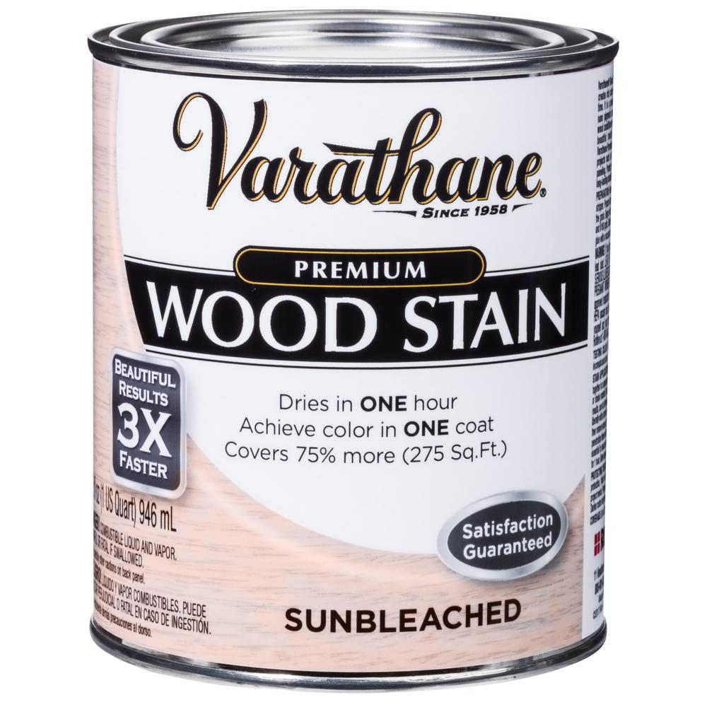 Varathane 1 qt. Sunbleached Premium Fast Dry Interior Wood Stain (2-Pack)