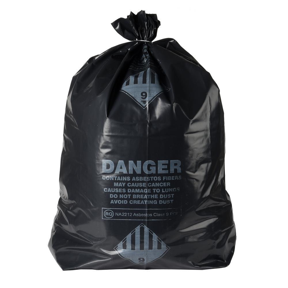 33 Gal. Asbestos 6 Mil Bag Box (32-Count)