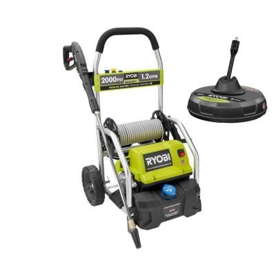 2,000 PSI 1.2 GPM Cold Water Electric Pressure Washer with 12 in. Surface Cleaner