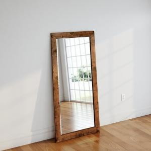 655 In X 32 In Timber Estate Beveled Full Body Mirror H052bt