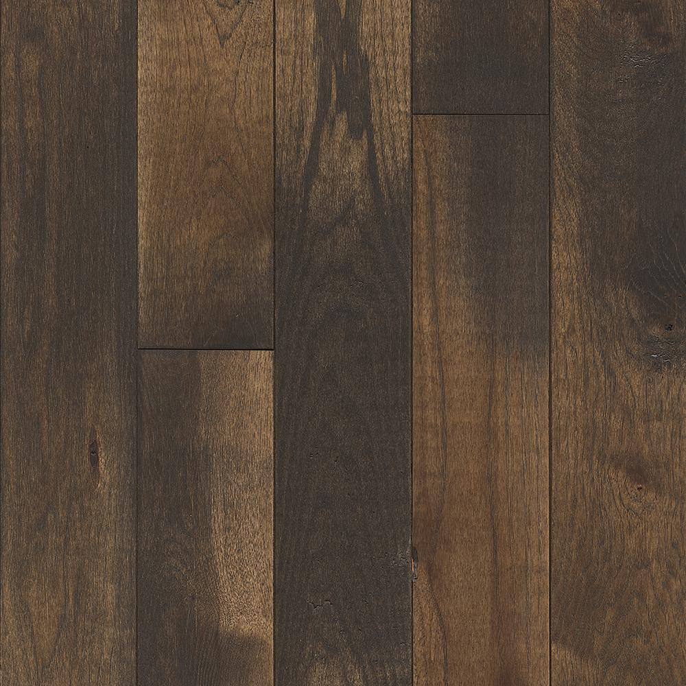 Mohawk portland hickory sable 3 4 in thick x 5 in wide x for Hardwood flooring portland