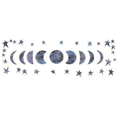 Reach for the Moon Glow in the Dark Wall Art Kit Wall Decals