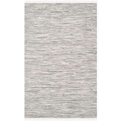Montauk Silver 6 ft. x 9 ft. Area Rug
