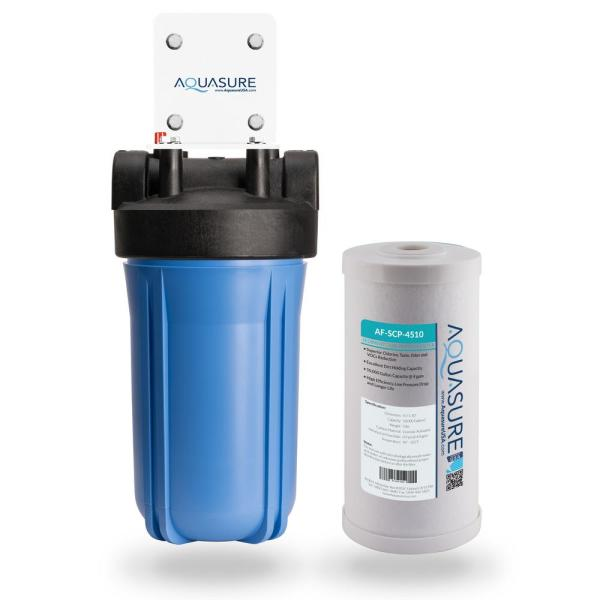 Fortitude 50,000 Gal. Sediment and Carbon Dual Purpose Whole House Water Filtration System