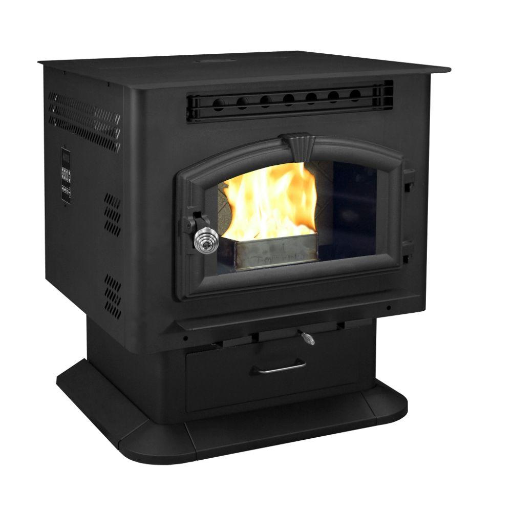 000 sq. ft. Pellet Stove-6041 - The Home Depot