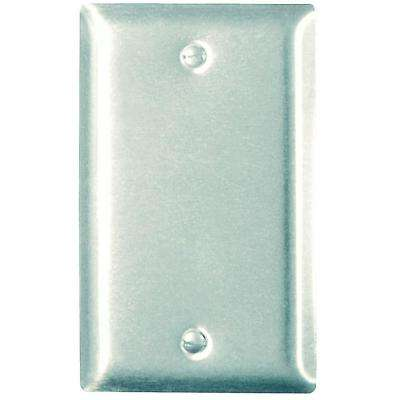 1-Gang Blank Wall Plate - Stainless Steel