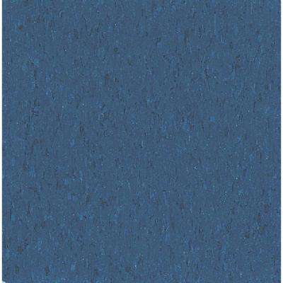 Imperial Texture VCT 12 in. x 12 in. Gentian Blue Standard Excelon Commercial Vinyl Tile (45 sq. ft. / case)