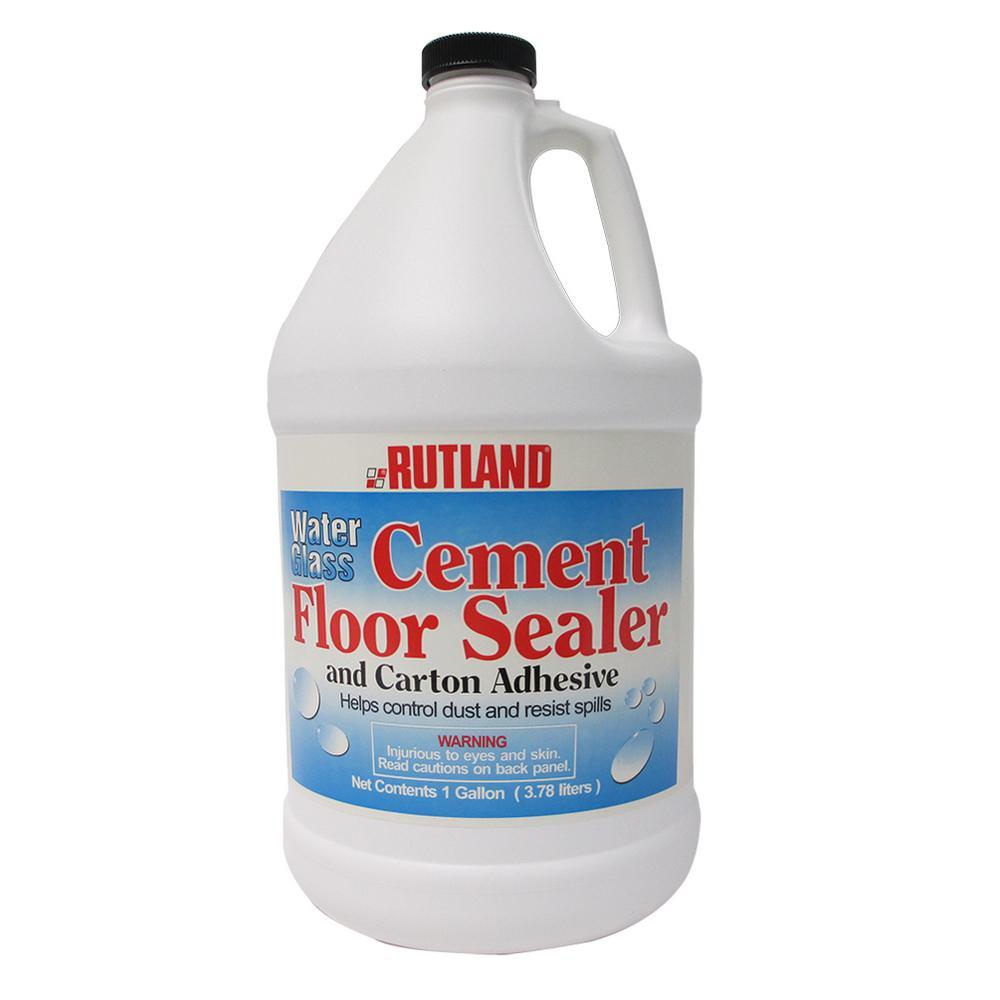 1 Gal. Water Glass Cement Floor Sealer Gallon Jug