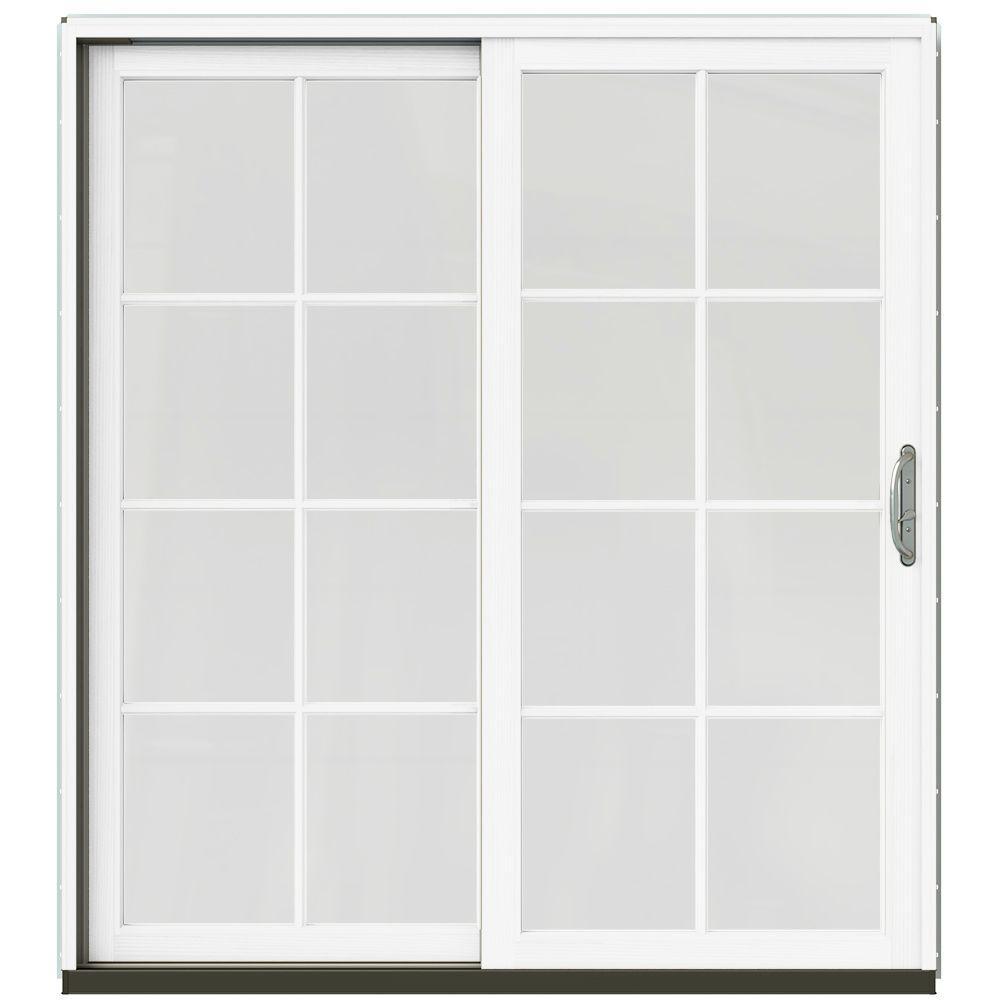 71-1/4 ...  sc 1 st  The Home Depot & Sliding Patio Door - Brown - Patio Doors - Exterior Doors - The ... pezcame.com
