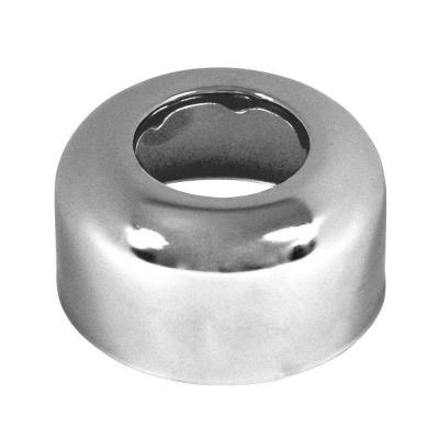 1-1/2 in. Box Flange Escutcheon Plate in Chrome-Plated Steel
