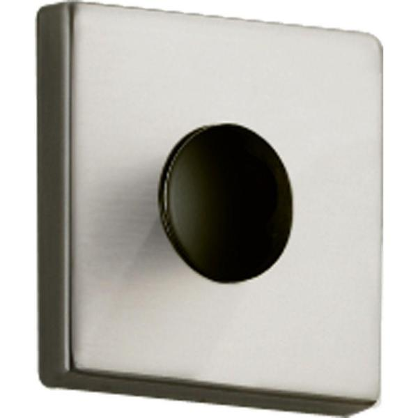 Delta Vero 2 In Square Shower Arm Flange In Stainless Rp51034ss The Home Depot