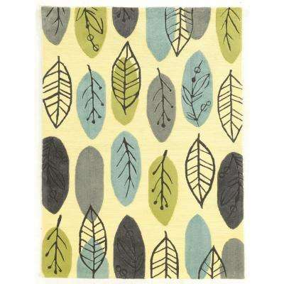 Le Soleil Tiles Blues And Green 2 Ft. X 3 Ft. Area Rug · Linon Home Decor  ...