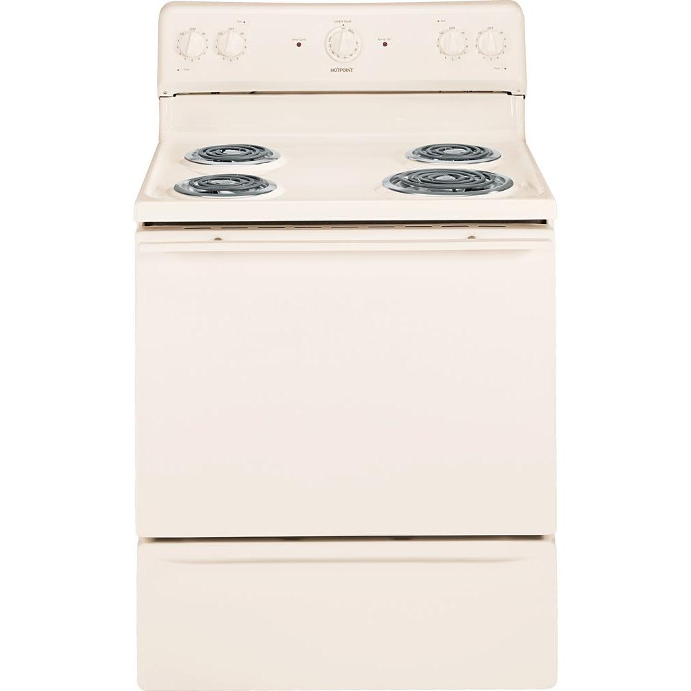 Hotpoint 5.0 cu. ft. Electric Range in Bisque