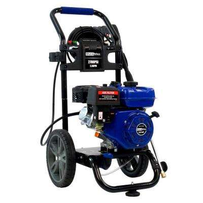 2,700 PSI  2.3 GPM Axial Cam Pump 5 HP Gas Powered Pressure Washer