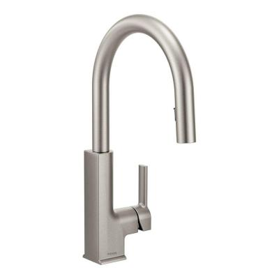 STo Single-Handle Pull-Down Sprayer Kitchen Faucet with Reflex in Spot Resist Stainless