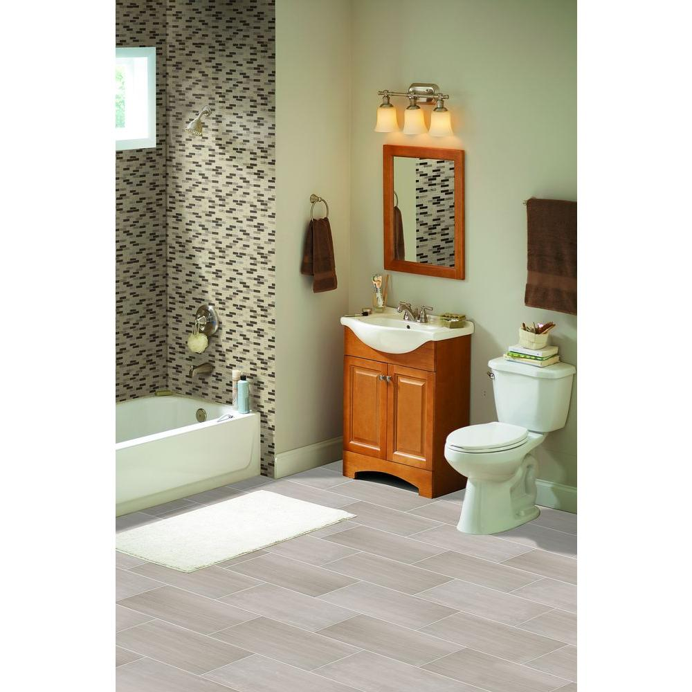 Msi White Oak 12 In X 24 Polished Limestone Floor And Wall Tile 10 Sq Ft Case
