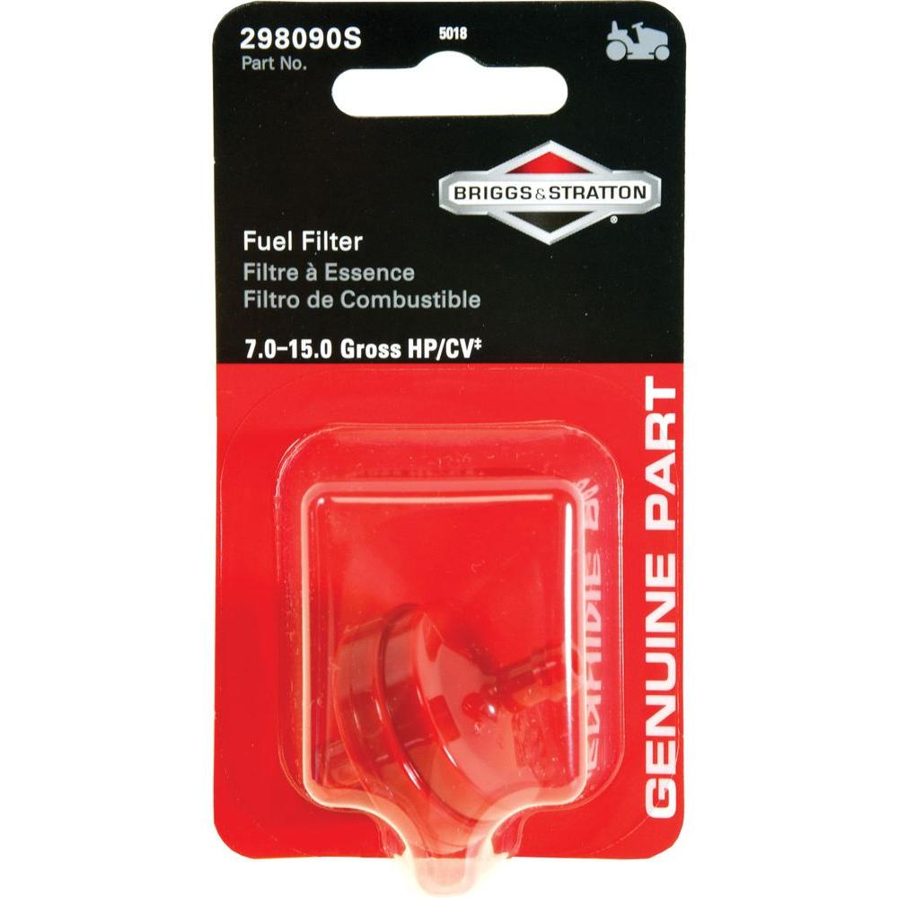 Briggs & Stratton 150 Micron Fuel Filter-5018K - The Home DepotHome Depot
