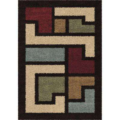 Mapped Floor Multi 7 ft. 10 in. x 10 ft. 10 in. Indoor Area Rug