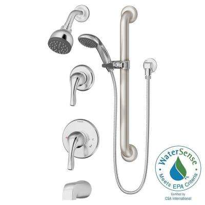 Origins Temptrol Single-Handle 1-Spray Tub and Shower Faucet in Chrome