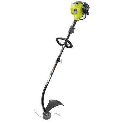 Reconditioned 2-Cycle 25cc Gas Full Crank Curved Shaft String Trimmer