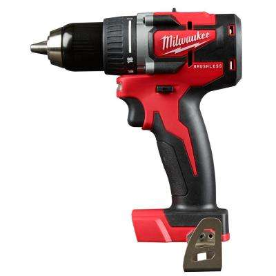 M18 18-Volt Lithium-Ion Brushless Cordless Compact 1/2 in. Drill/Driver (Tool-Only)