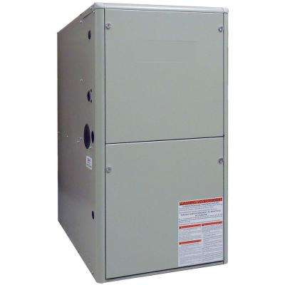 80% AFUE 108,000 BTU Upflow/Horizontal Residential Natural Gas Furnace