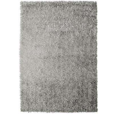 Urban Chic Silver 7 ft. x 10 ft. Area Rug