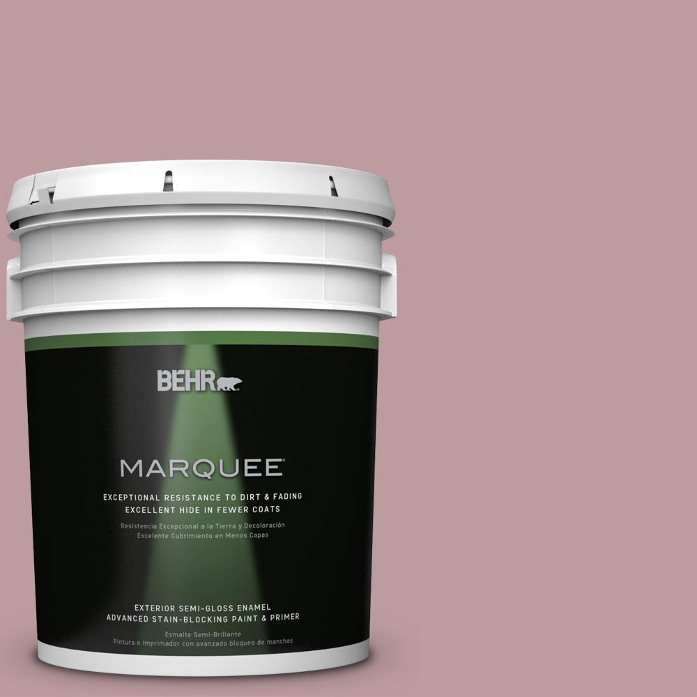 5-gal. #BIC-06 Desert Lights Semi-Gloss Enamel Exterior Paint