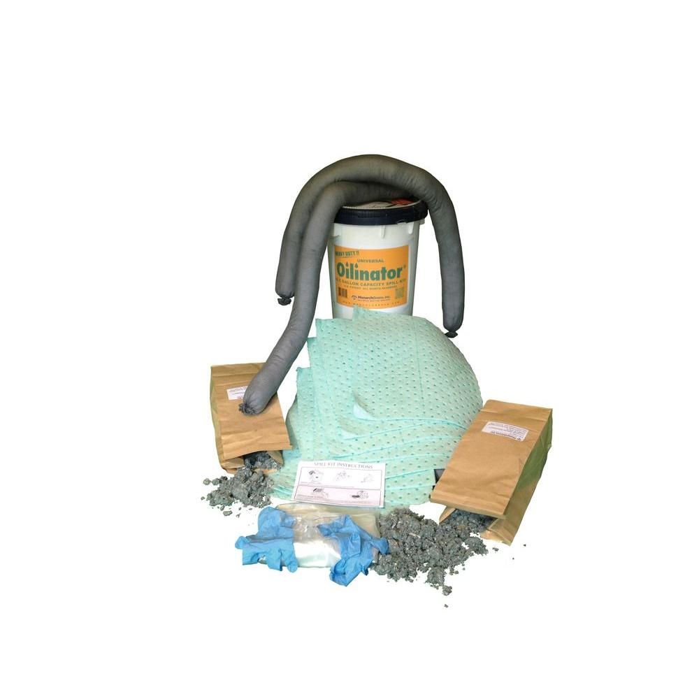 Oilinator 6.5 Gal. Universal Oily and Watery Absorbent Spill Kit