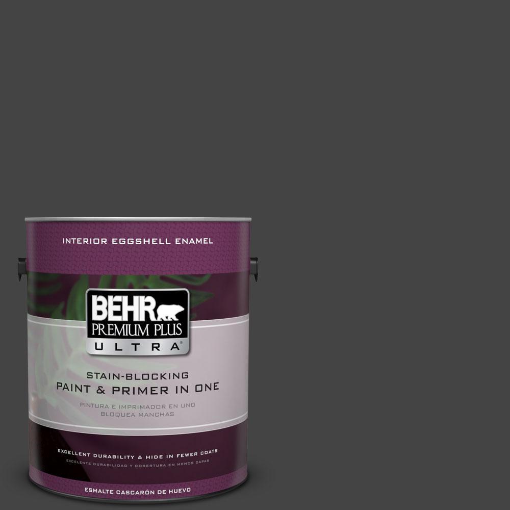 BEHR Premium Plus Ultra 1-Gal. #PPU18-20 Broadway Eggshell Enamel Interior Paint