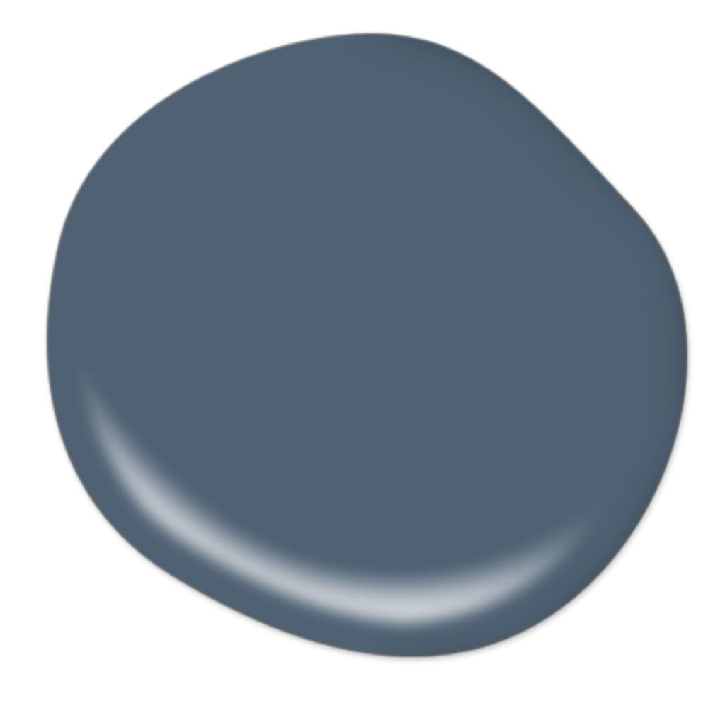 BEHR ULTRA 8 oz. #UL230-2 English Channel Matte Interior/Exterior Paint and Primer in One Sample