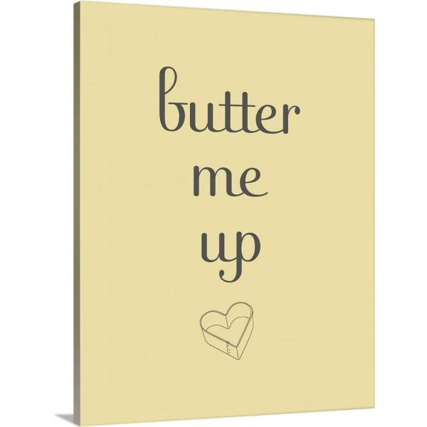 GreatBigCanvas ''Butter'' by SD Graphics Studio Canvas Wall Art 1909071_24_16x20