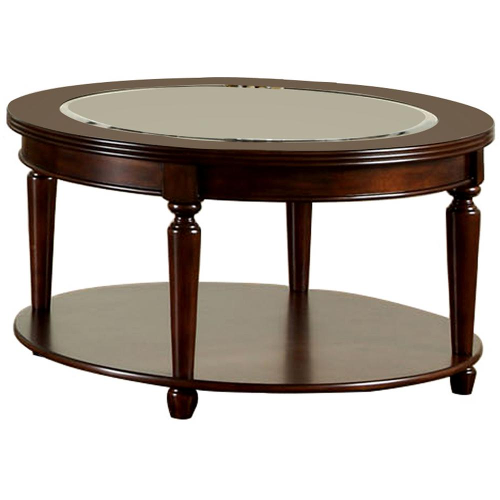 Genial Furniture Of America Granvia Dark Cherry Coffee Table