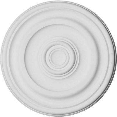 11-7/8 in. O.D. x 1-1/4 in. Keler Traditional Ceiling Medallion