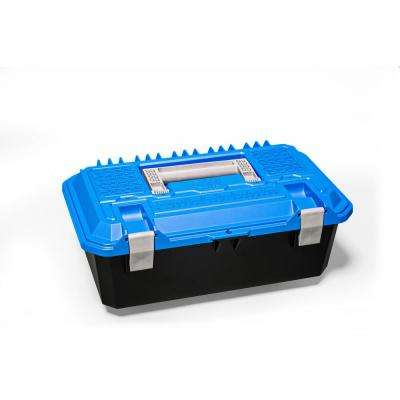 Crossbox 17 in. Drawer Tool Box in Blue and Black