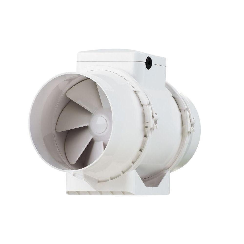 VENTS-US 146 CFM Power 4 in. Energy Star Rated Mixed Flow In-Line Duct Fan