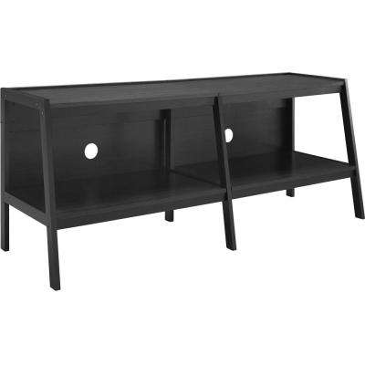 Ritter Black 60 in. Ladder TV Stand