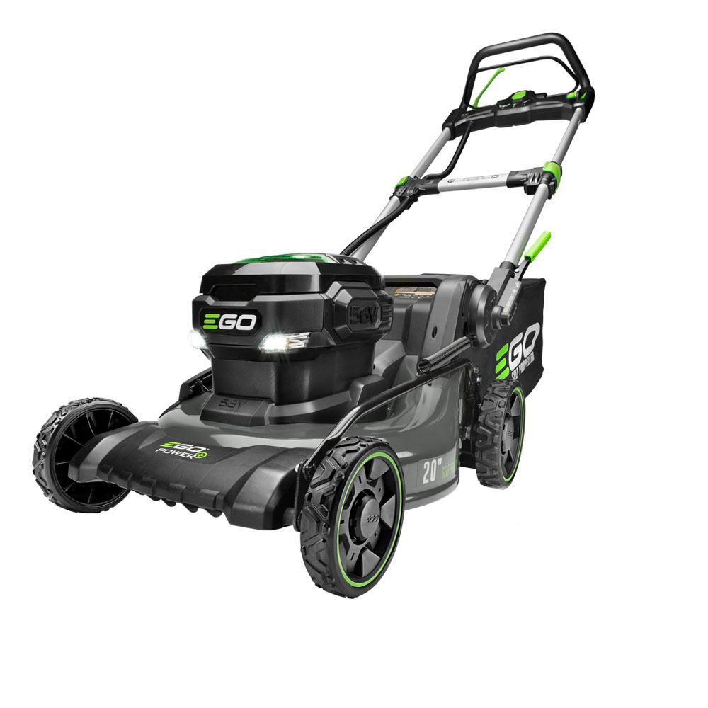 EGO 20 in. Brushless Steel Deck Walk Behind-Self Propelled, Cordless Mower Kit 7.5 Ah Battery/Charger Included