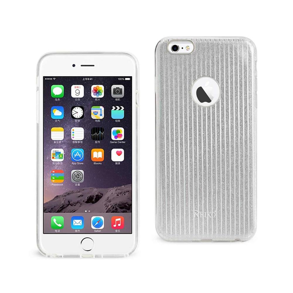 buy popular 39373 8897c REIKO iPhone 6 Plus/6S Plus Design Case in Silver