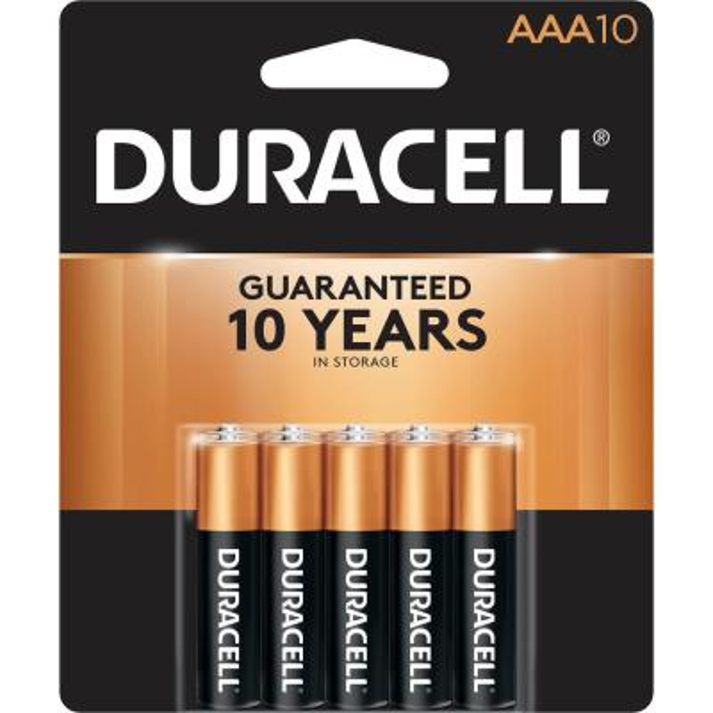 Coppertop Alkaline AAA Battery (10-Pack)