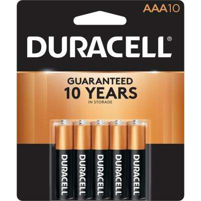 Coppertop Alkaline AAA Battery (10-Pack)
