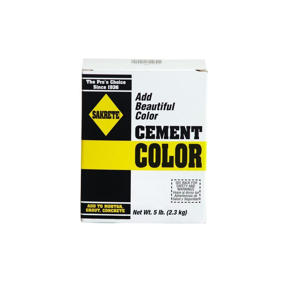 5 lb. Charcoal Cement