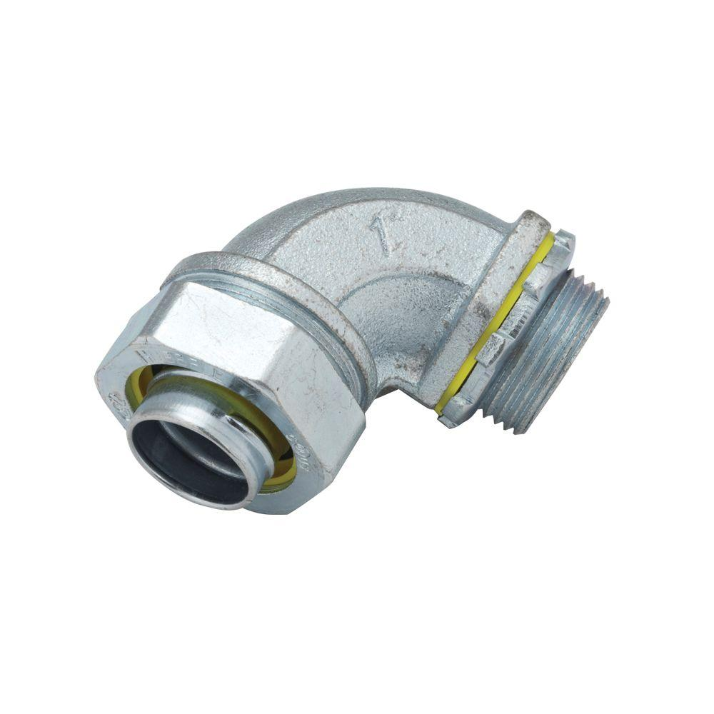 RACO Liquidtight 1 in. Uninsulated Connector (10-Pack)