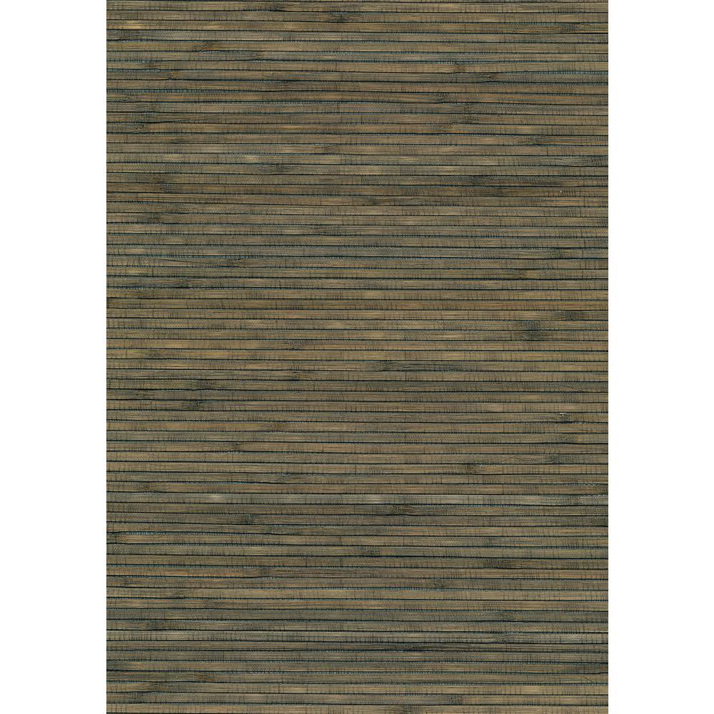 8 in. x 10 in. Hotaka Sage Grasscloth Wallpaper Sample
