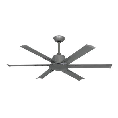 Titan II 52 in. Indoor/Outdoor Brushed Nickel Ceiling Fan with Remote Control
