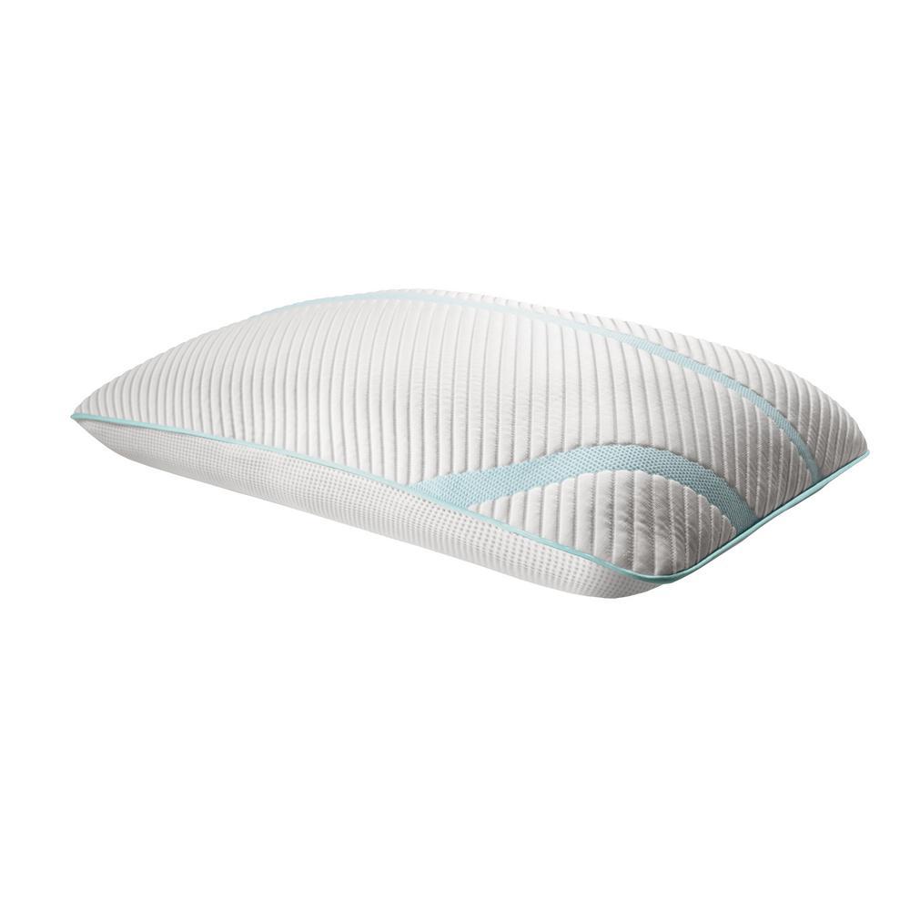 TEMPUR-Adapt ProLo + Cooling King Memory Foam Pillow