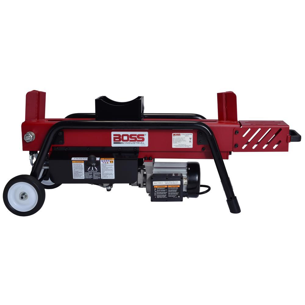 f92e7fe8931b Boss Industrial 8-Ton 14 Amp Electric Dual Direction Log Splitter ...