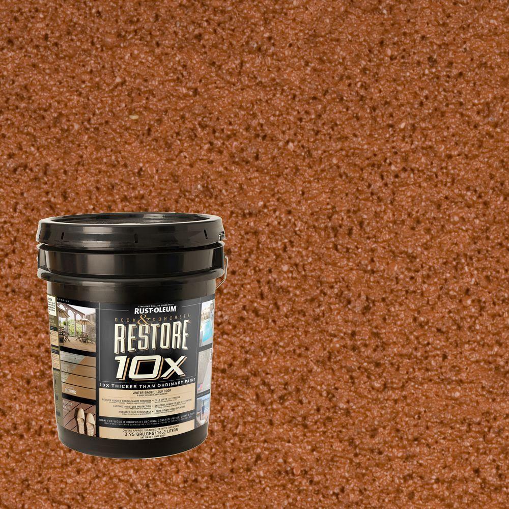 Rust-Oleum Restore 4-gal. California Rustic Deck and Concrete 10X Resurfacer