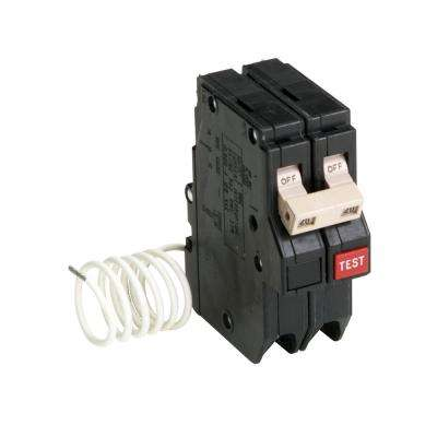 CH 20 Amp 2-Pole Self Test Ground Fault Circuit Breaker