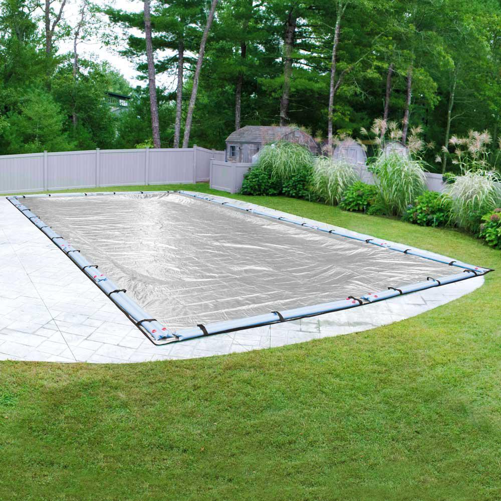 Extreme-Mesh XL 16 ft. x 36 ft. Pool Size Rectangular Silver